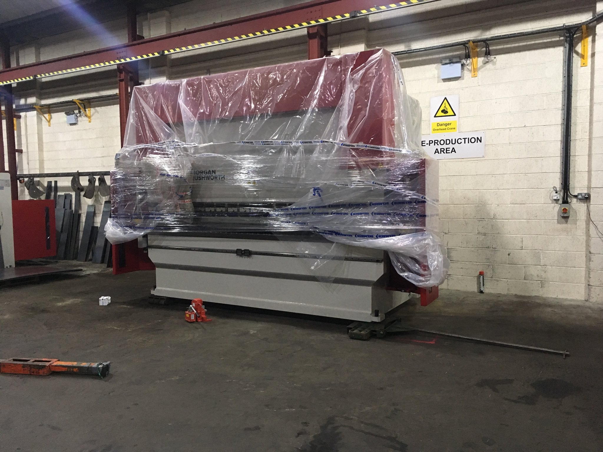 Press Brake Delivered