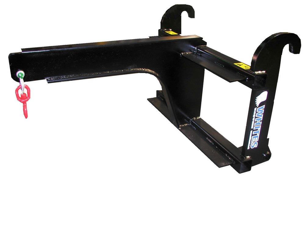 Jib Crane Mounting Brackets : Carriage mounted crane jib whites material handling
