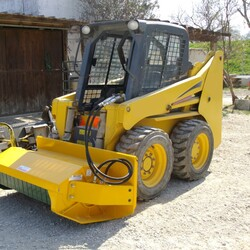 Skidsteer and Flail Mower.JPG